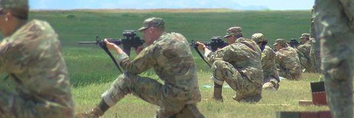 Basic training on Fort Sill continues with rifle marksmanship