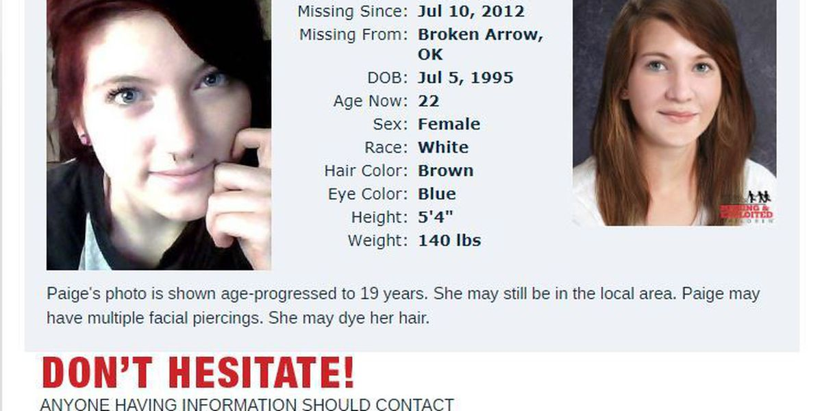 OK family continues search for missing Broken Arrow teen 5 years later