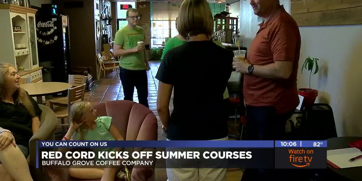Red Cord kicks off summer education courses