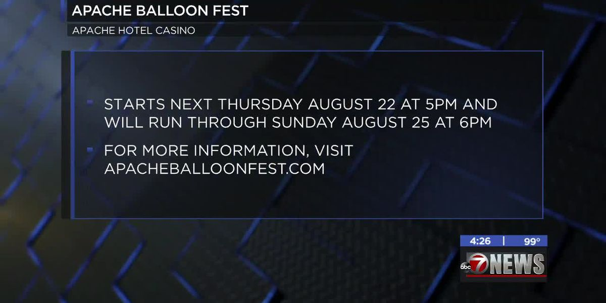 Apache Balloon Fest coming up in Lawton