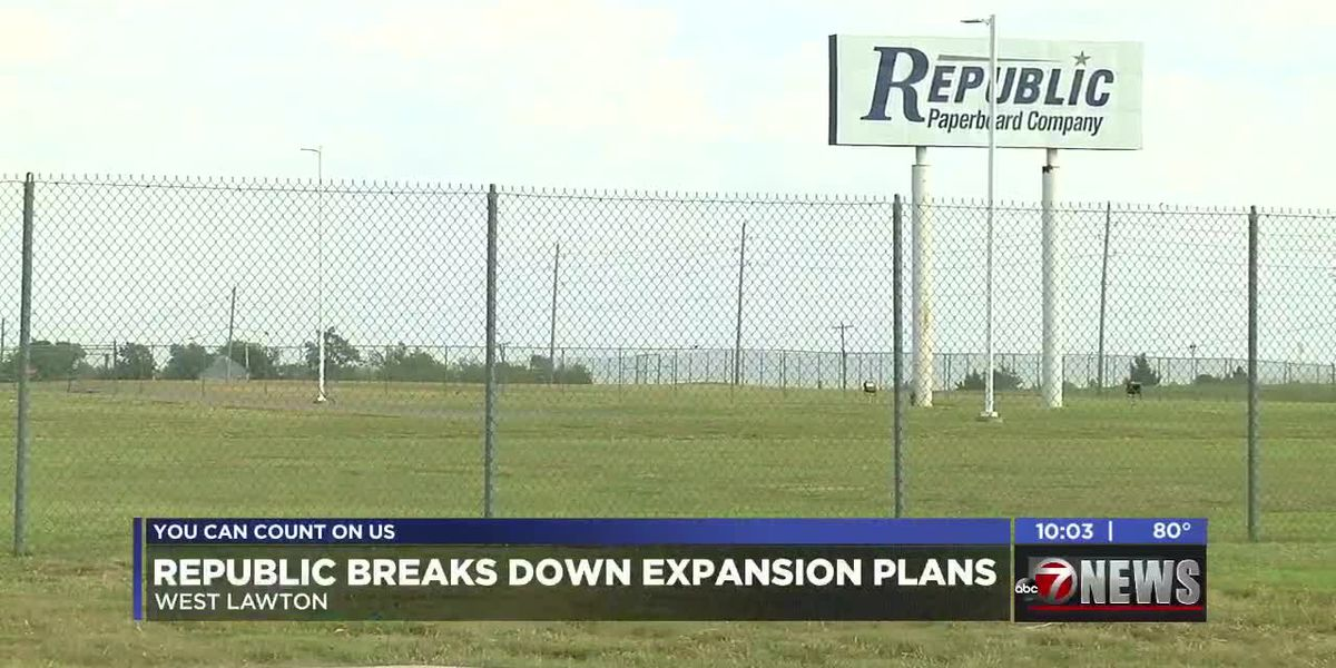 Republic Paperboard explains what the proposed TIF district means for their future in Lawton