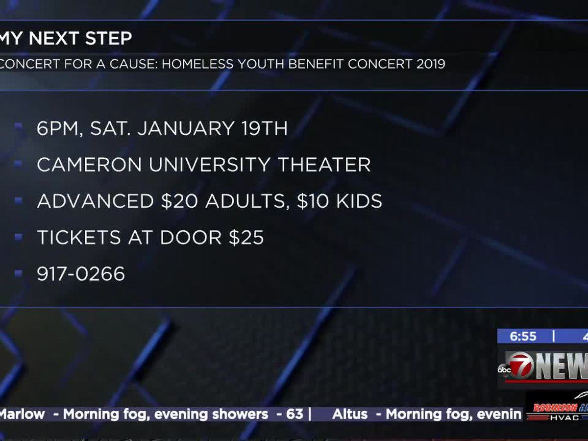 'Concert for a Cause' happening at Cameron on Saturday