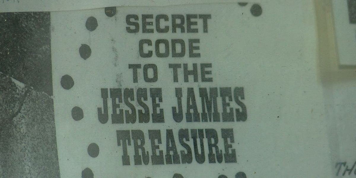 CEMENT TREASURE: The search for Jesse James's rumored hidden loot
