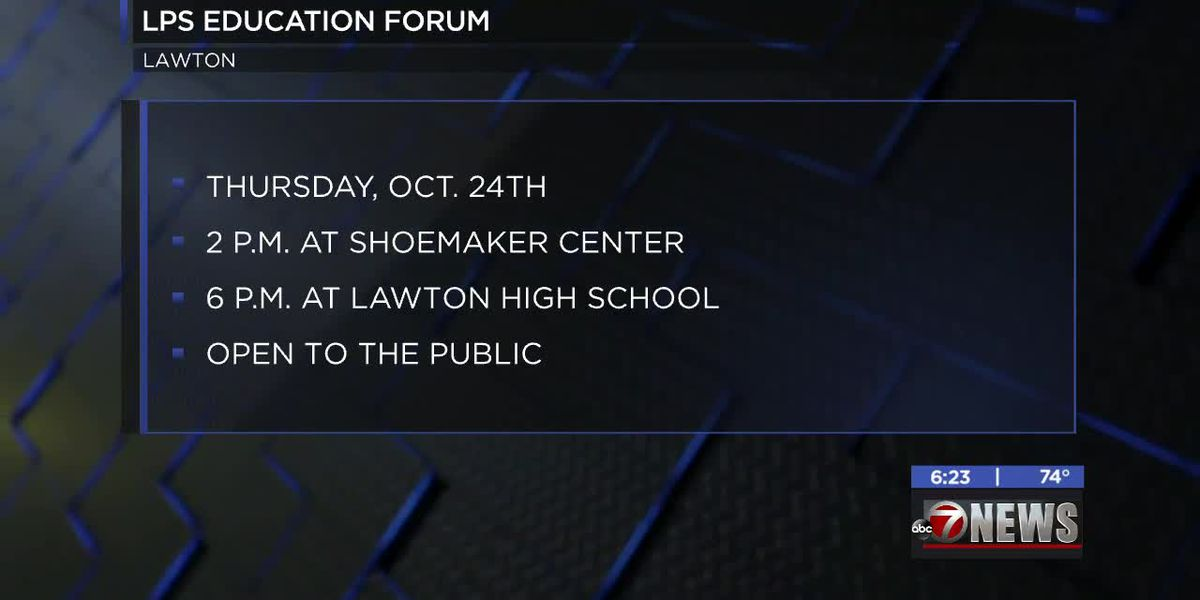 Lawton School Board holds LPS education forum