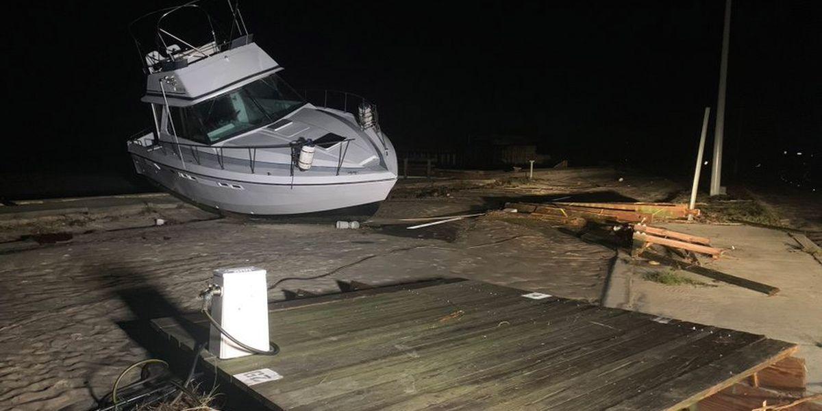 Zeta barrels across Southeast after battering weary coast