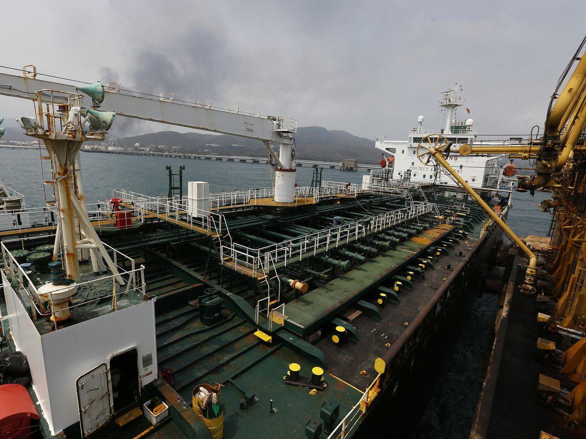 Officials: U.S. seizes Iranian gas heading for Venezuela