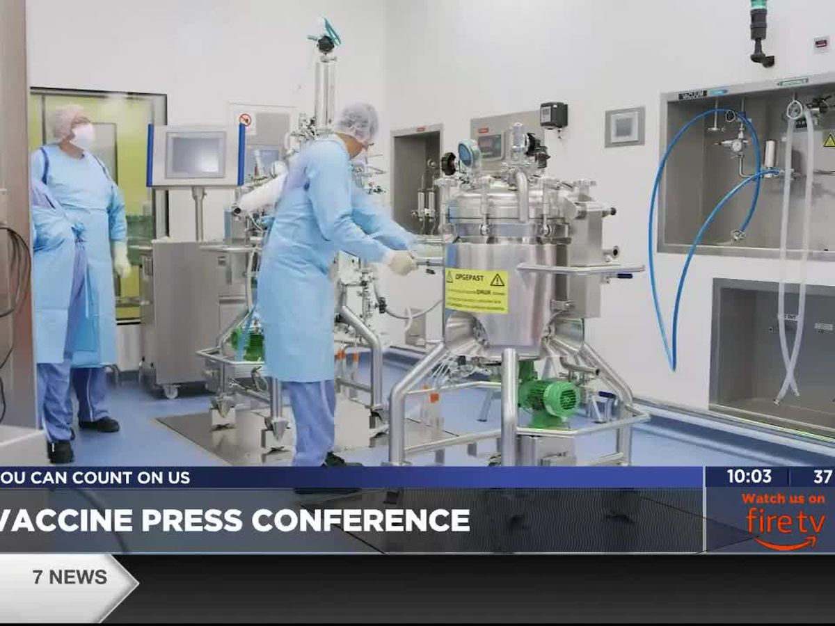 Oklahoma State Department of Health will hold press conference on arrival of COVID-19 vaccine