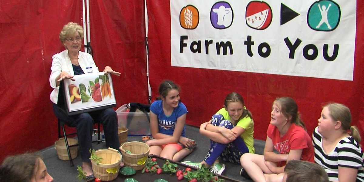 Students learn about food choices