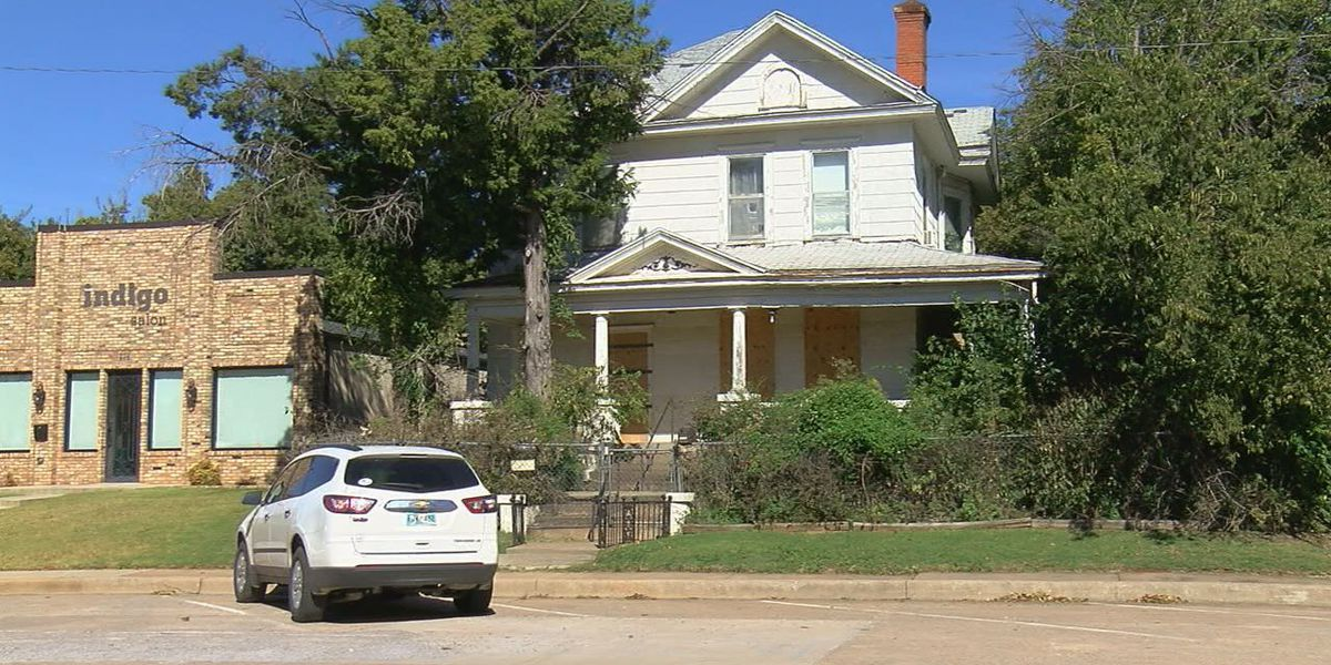 Lawton woman renovates historic mansions