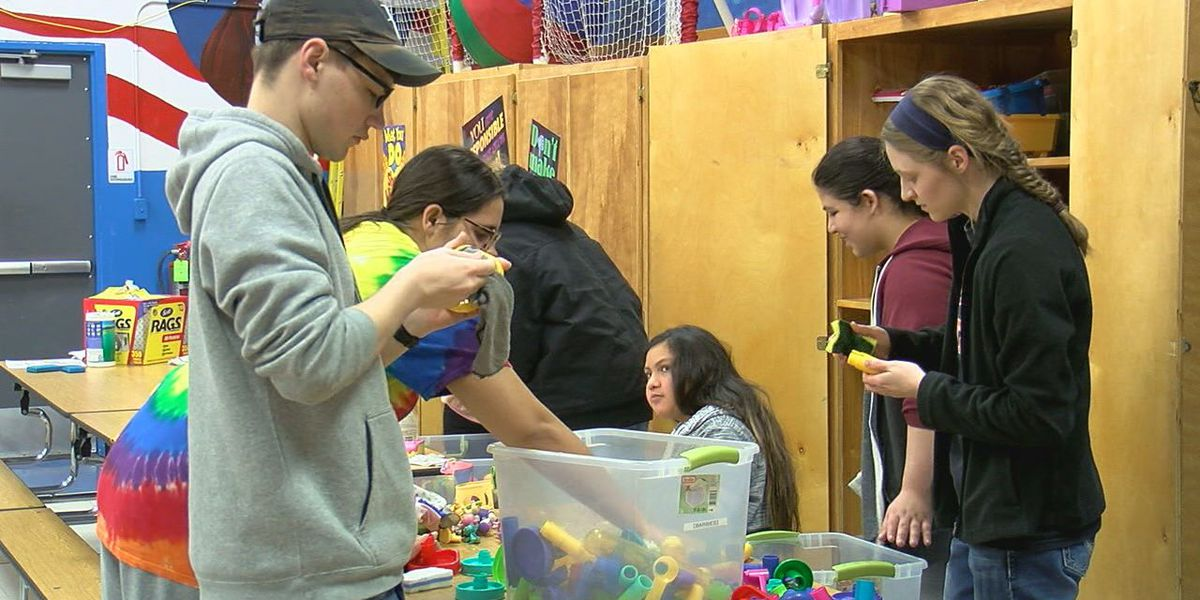 Cameron students honor MLK's legacy with day of service