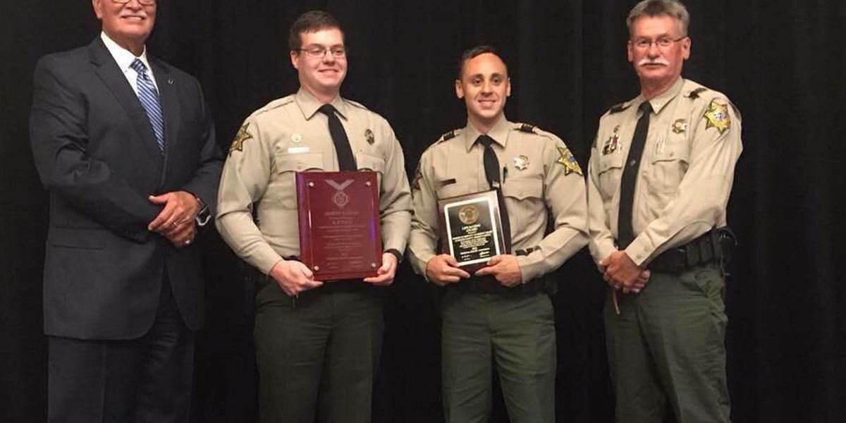Stephens County deputy honored for heroic actions