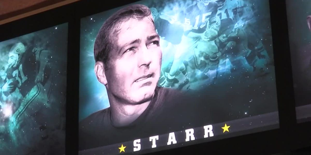 Fans mourn death of Packers legend Bart Starr