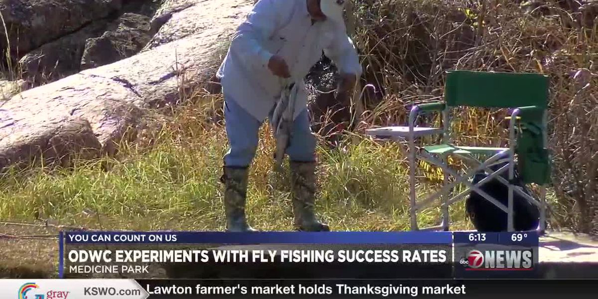 ODWC experiments with fly fishing success rates in Medicine Park