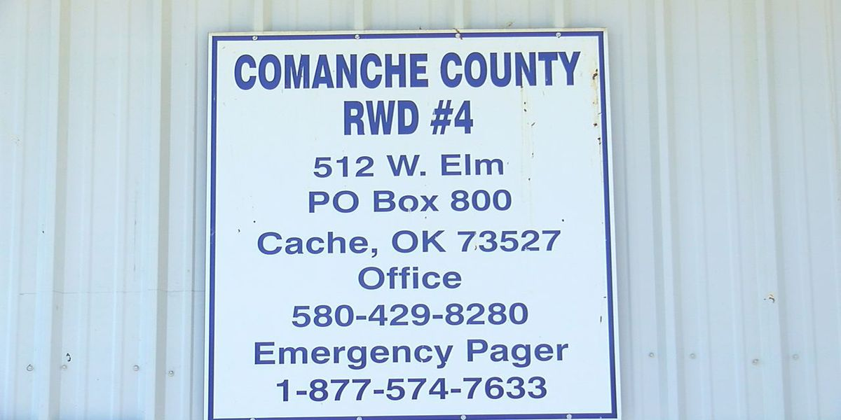 Comanche Co. Rural Water District #4 asks residents to conserve water