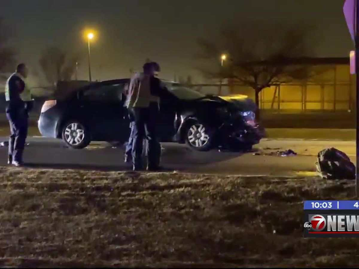 Crews respond to Lawton three-car crash