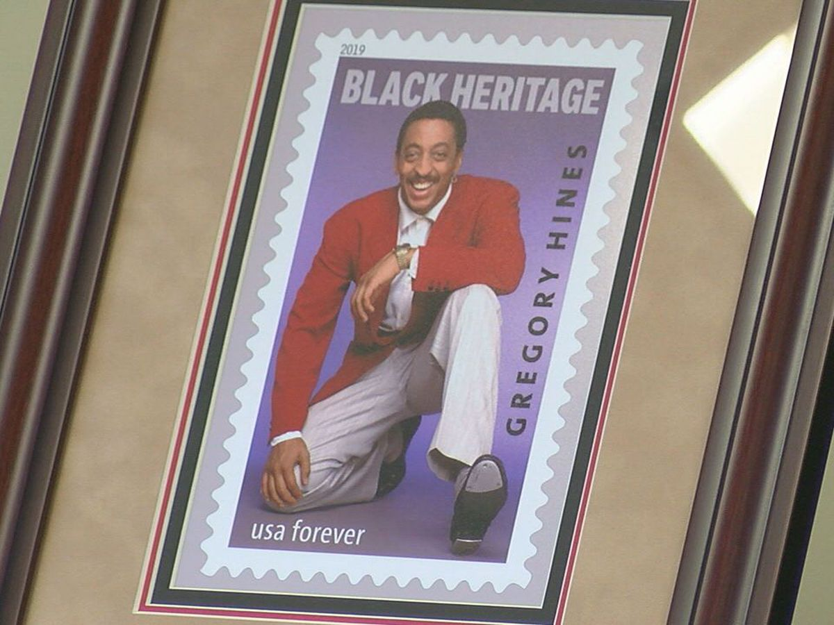 Black Heritage stamp unveiled at Lawton Post Office
