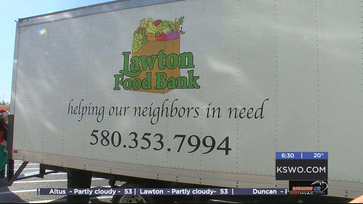 Lawton Food Bank explains how Share Your Christmas benefits them