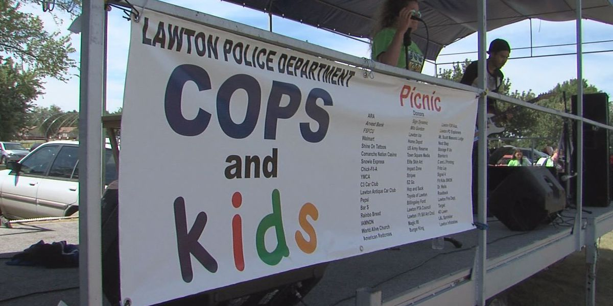 Kids and Cops Picnic