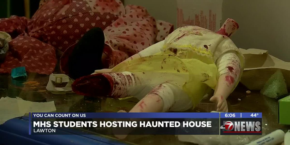MHS students create haunted house