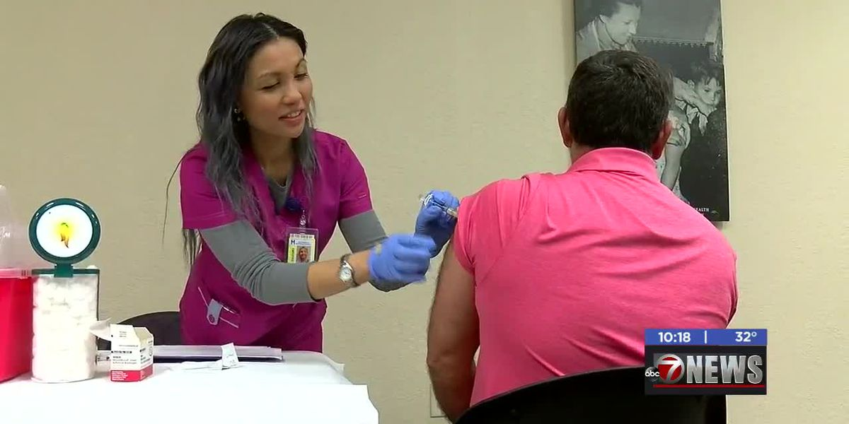 Comanche Co. Health Department gives out free flu shots