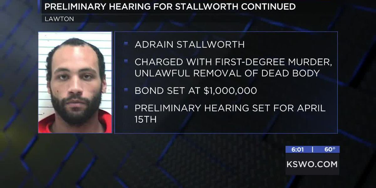 Preliminary hearing for Lawton murder suspect pushed back