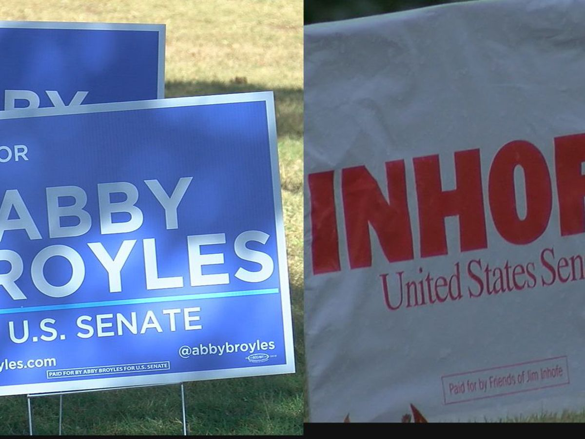 ELECTION PREVIEW: Inhofe, Broyles vying for Oklahoma Senate seat