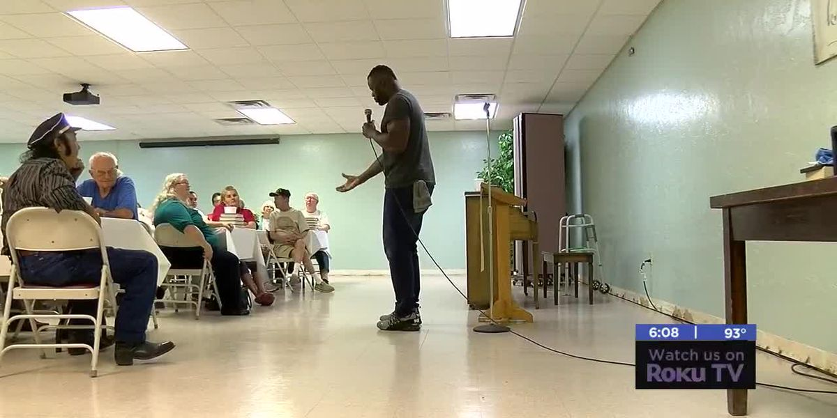 Former OSU football player shares story in Lawton