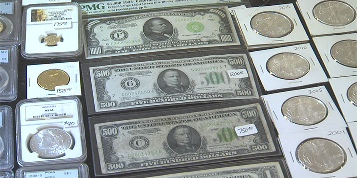 4th annual Coin Show is underway at the Stephens Co Fairgrounds