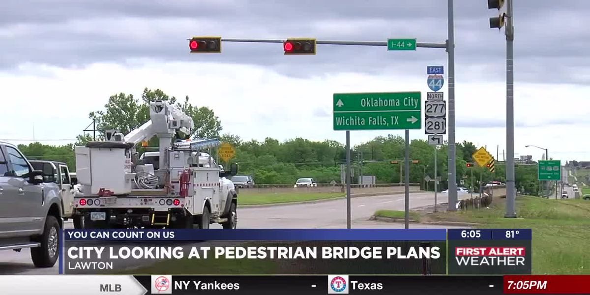 City working on construction plans for pedestrian bridge over I-44