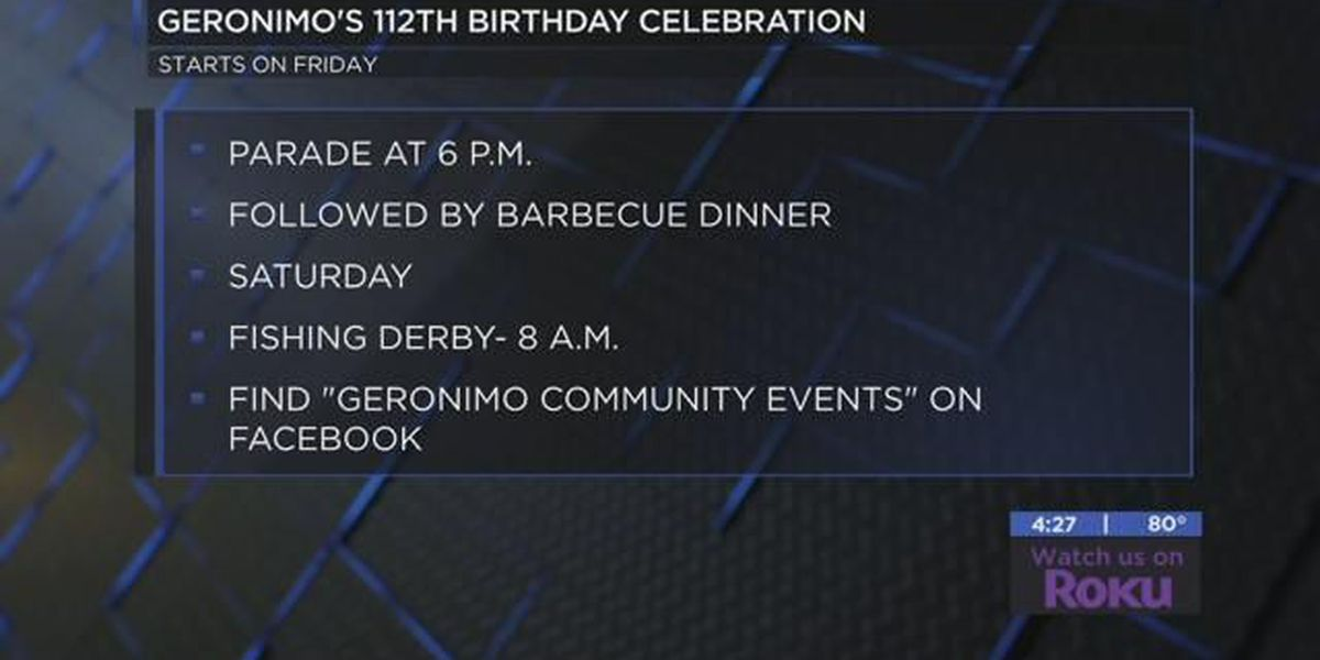 Geronimo gearing up for annual birthday celebration
