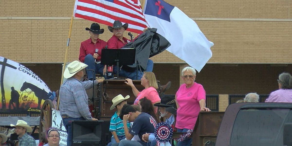 Lawton Rangers celebrate city's birthday host annual parade
