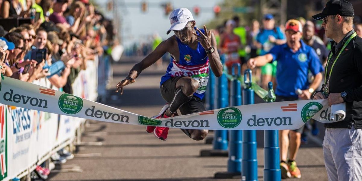 Chamer, Radcliff winners of Oklahoma City Memorial Marathon