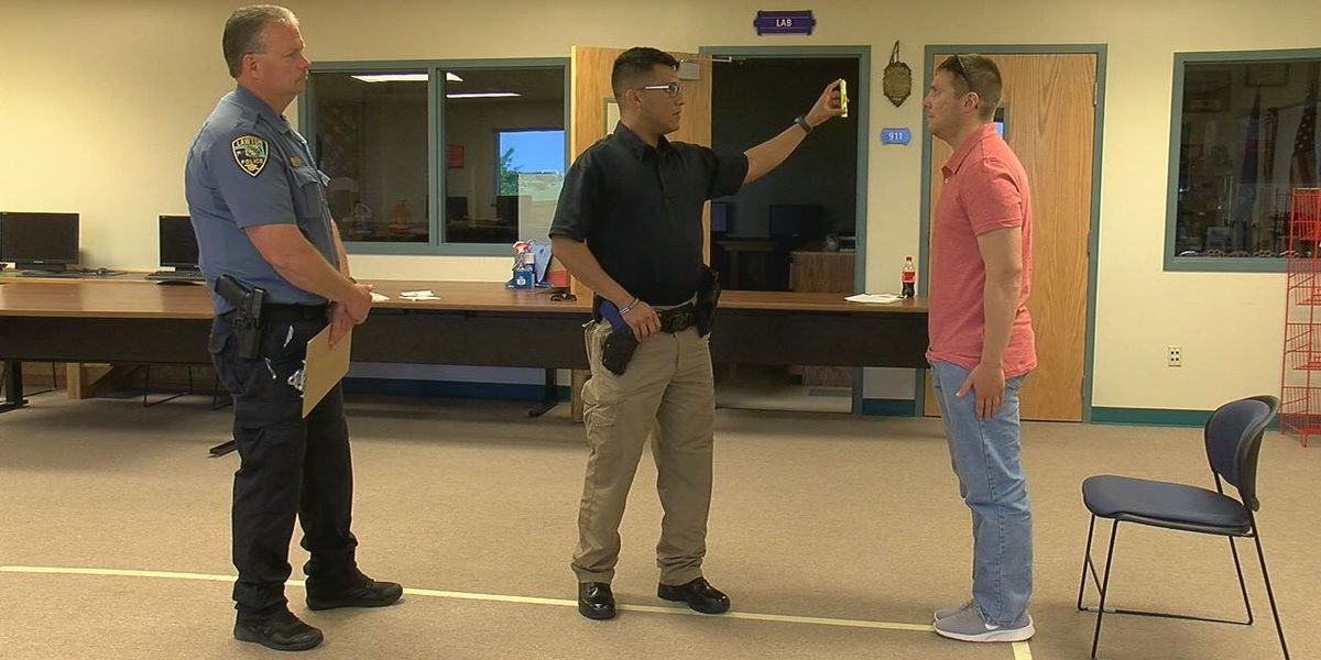 Lawton Police Department cadets train to spot drunk drivers