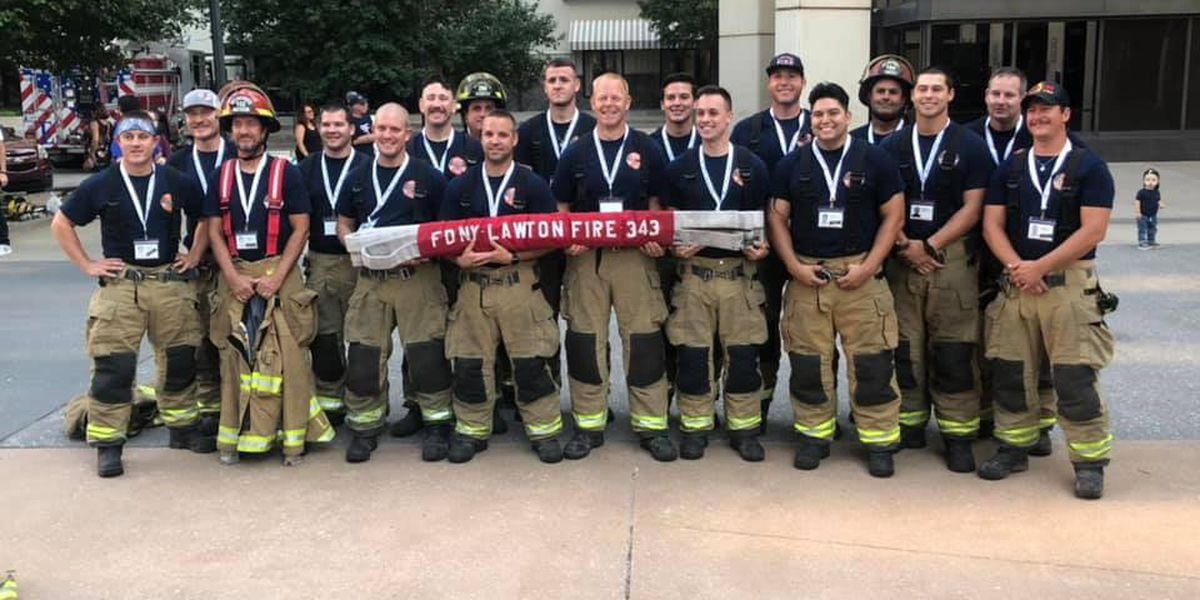 SW Oklahoma well represented at OKC 9/11 Memorial Stair Climb