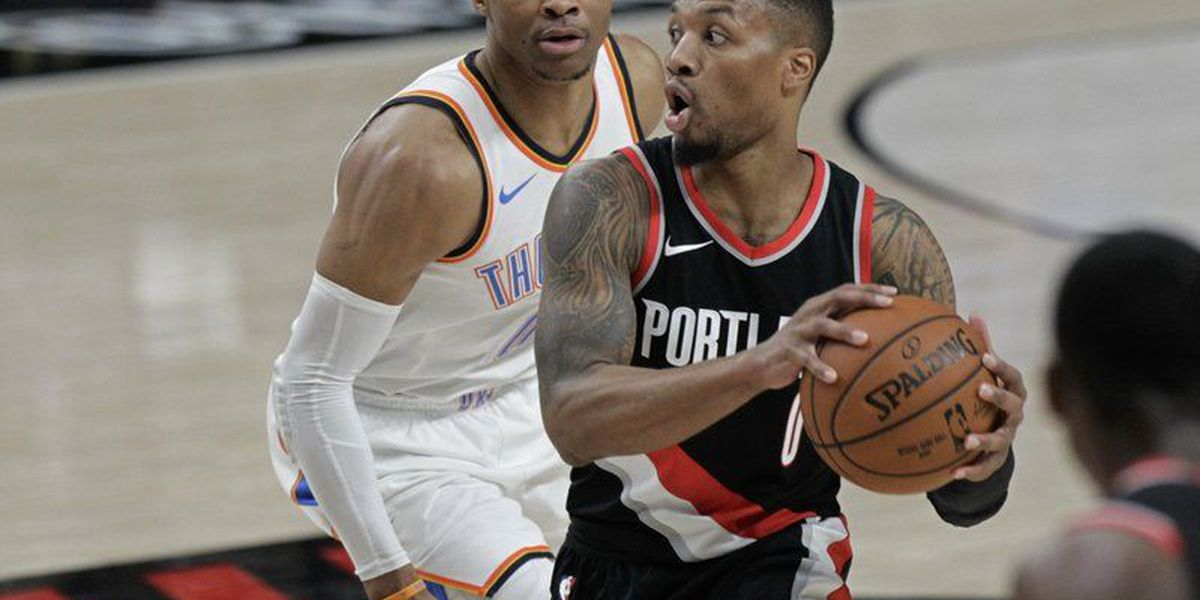Blazers edge Thunder behind Lillard's 36 points, 13 assists