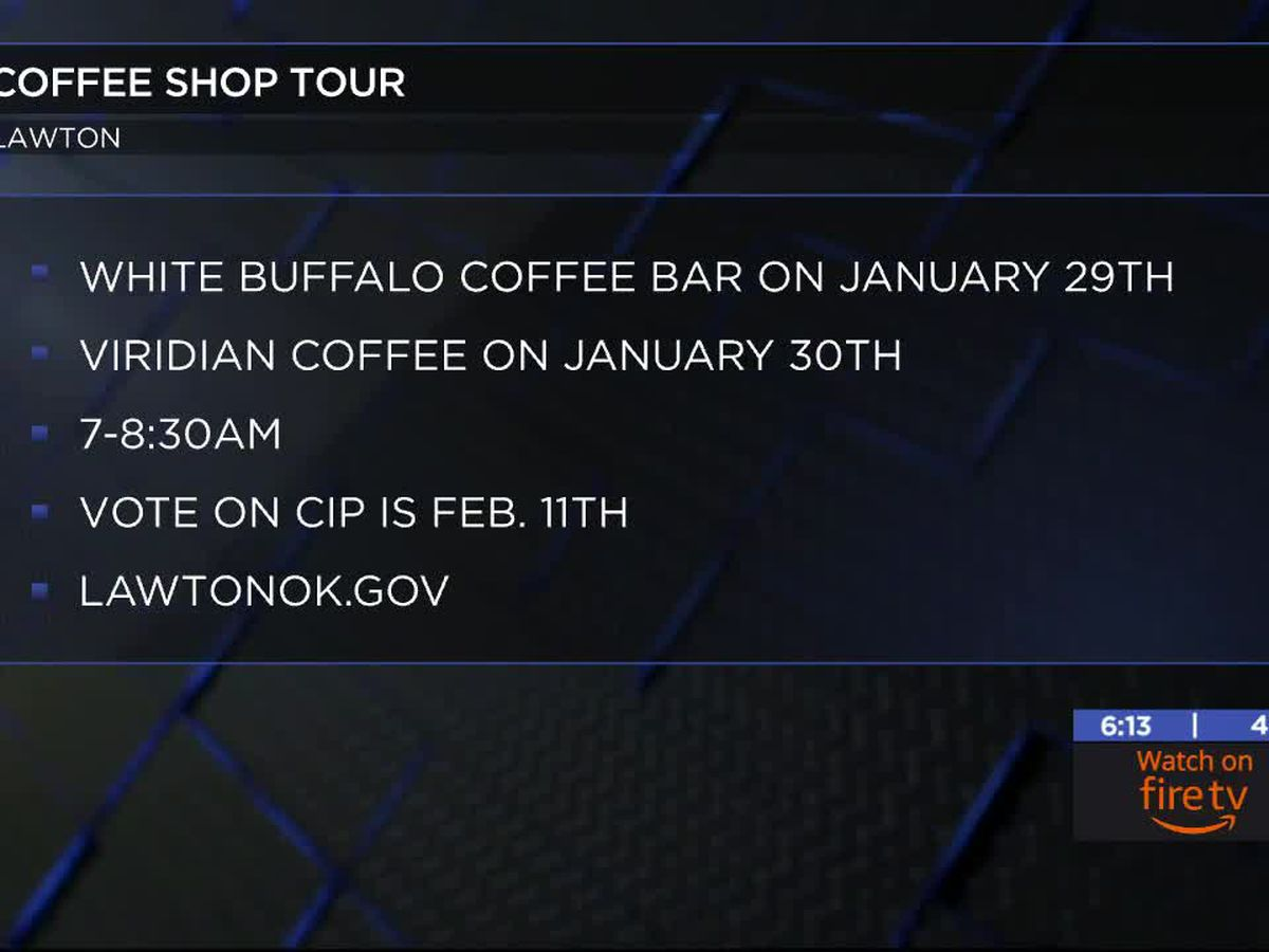 Mayor Booker begins Coffee Shop Tour