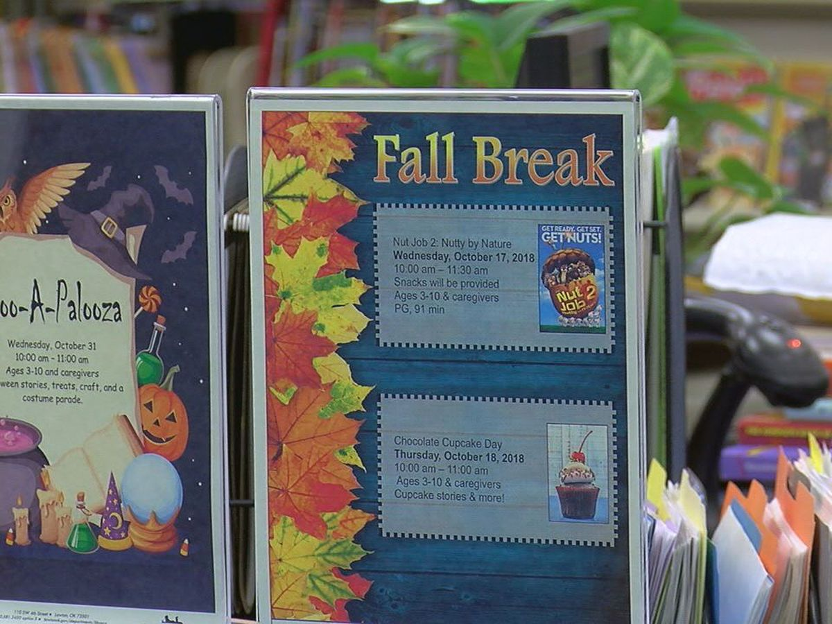 Lawton Public Library hosts free family activities for fall break
