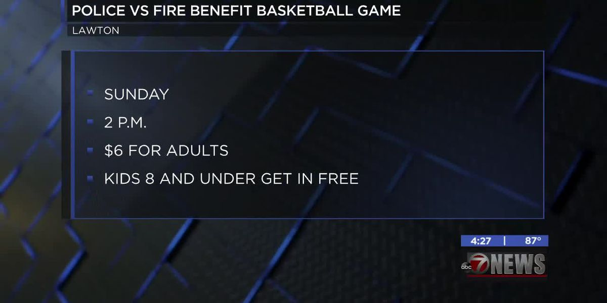 Lawton police, fire preparing for charity basketball game