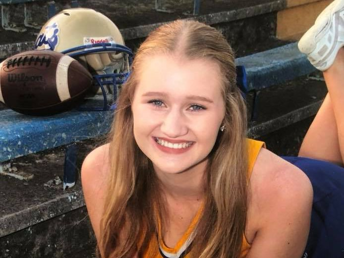 Oklahoma cheerleader makes academic all-state cheer