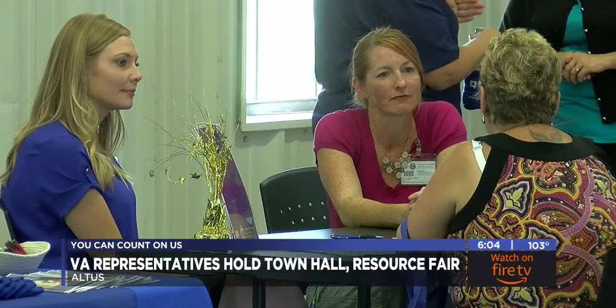 VA representatives hold Altus town hall and resource fair
