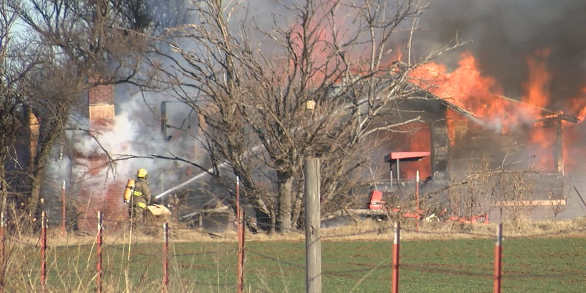 Cotton County home destroyed by fire