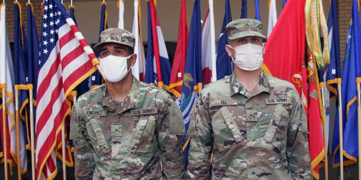 Two Fort Sill basic trainees get promotion after saving a life