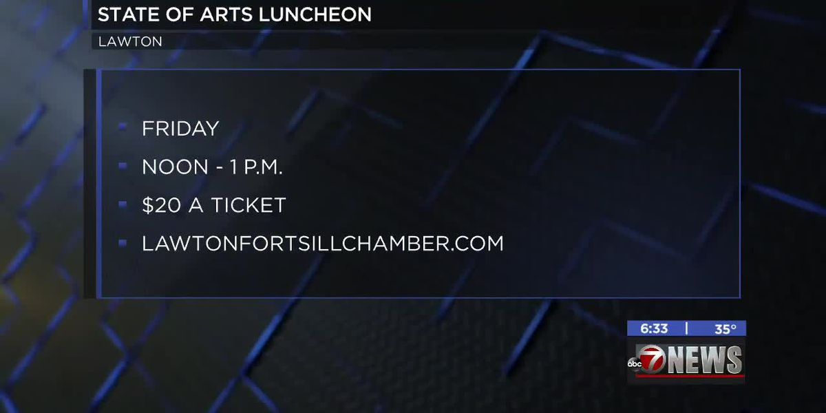 Lawton-Fort Sill Chamber of Commerce and Arts for All Foundation hosting State of Arts luncheon