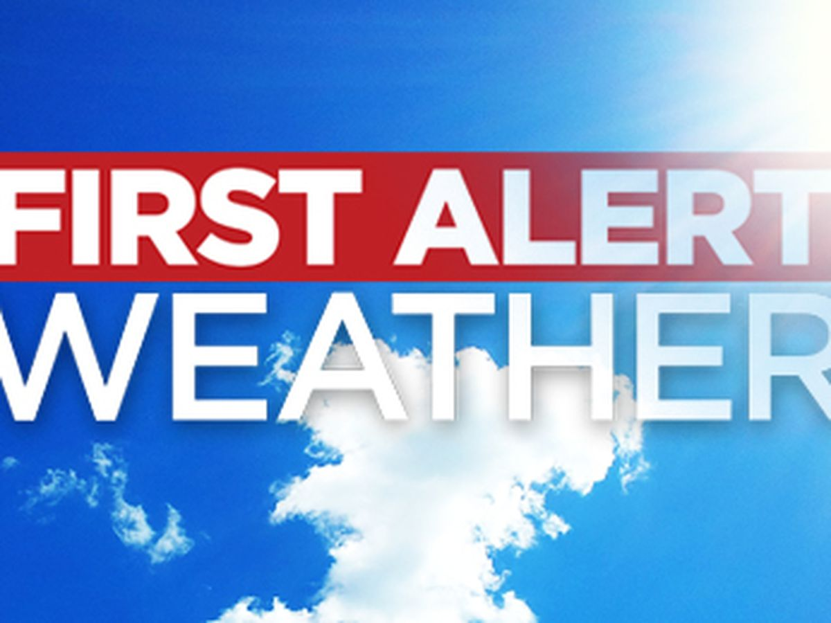 First Alert 7 Forecast: a scorching weekend then much cooler and drier for most of next week