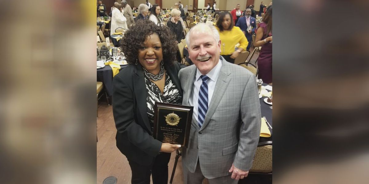 LPS teacher receives Dr. Martin Luther King Jr. Humanitarian Award