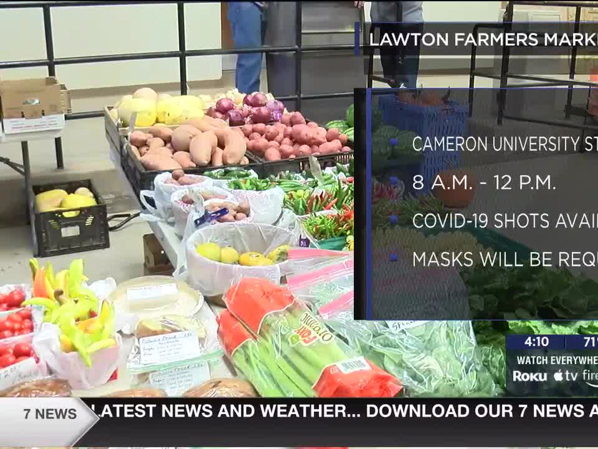 Lawton Farmers Market kicks off Summer Market Saturday