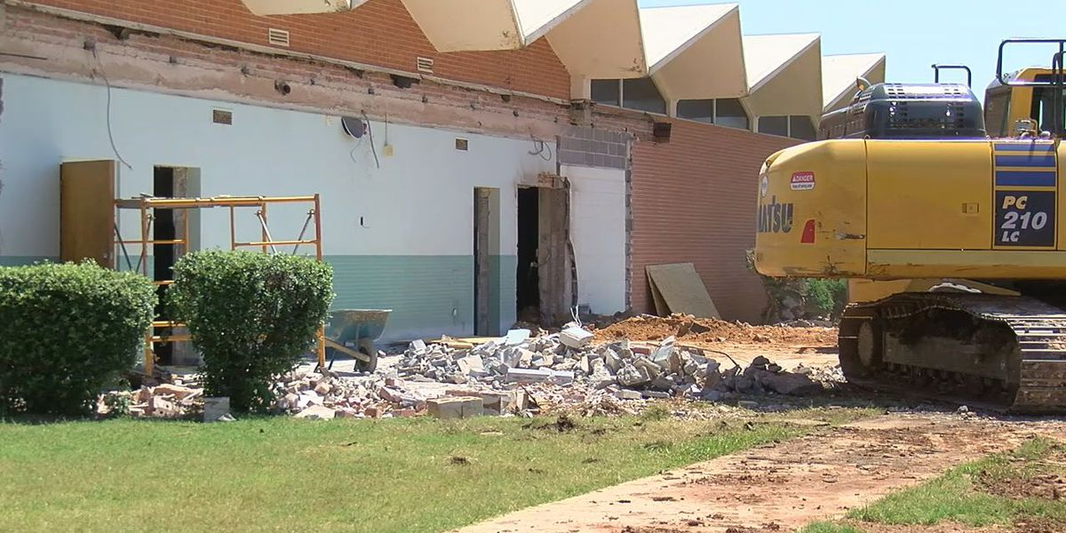 Remodel underway for Altus High School's Dick Jewell Music Hall