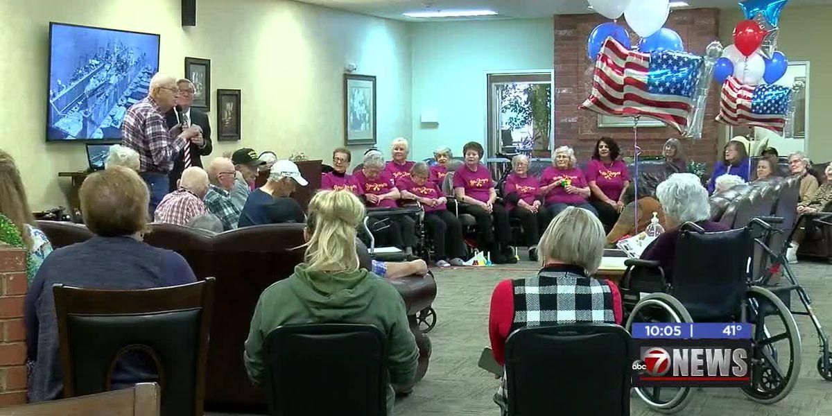Brookridge Retirement Community honors local Veterans