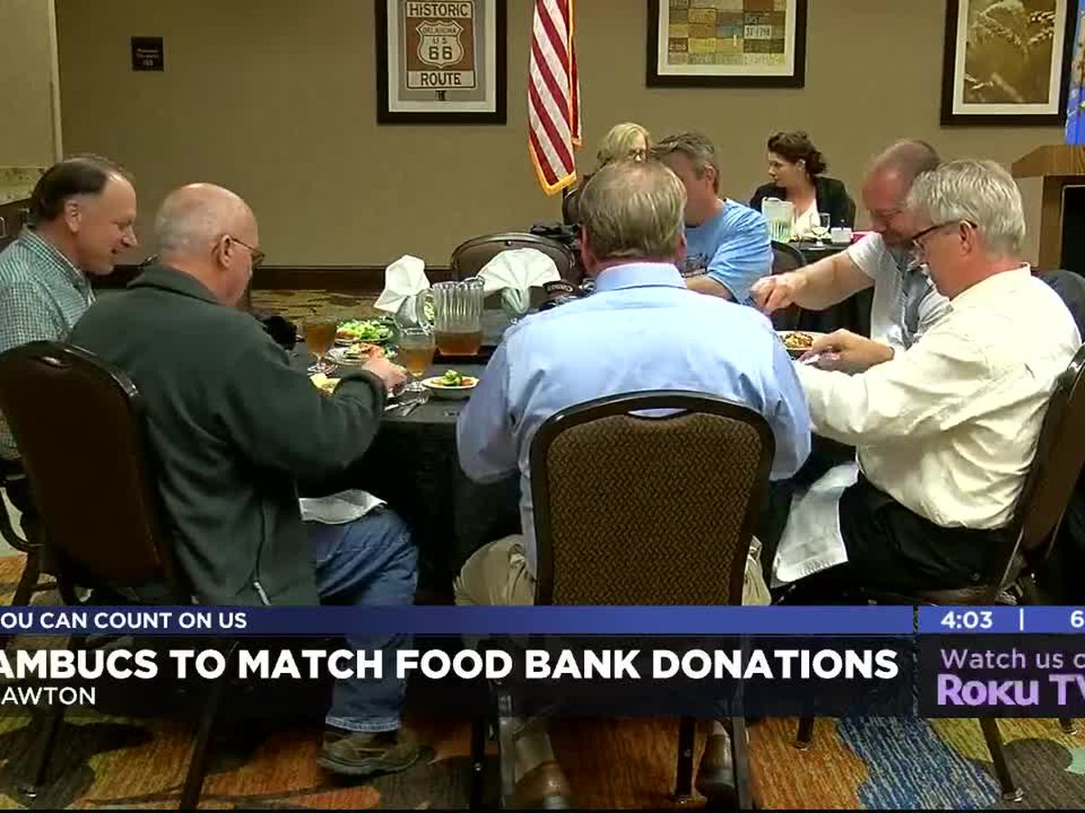 Great Plains AMBUCS to match October donations to Lawton Food Bank