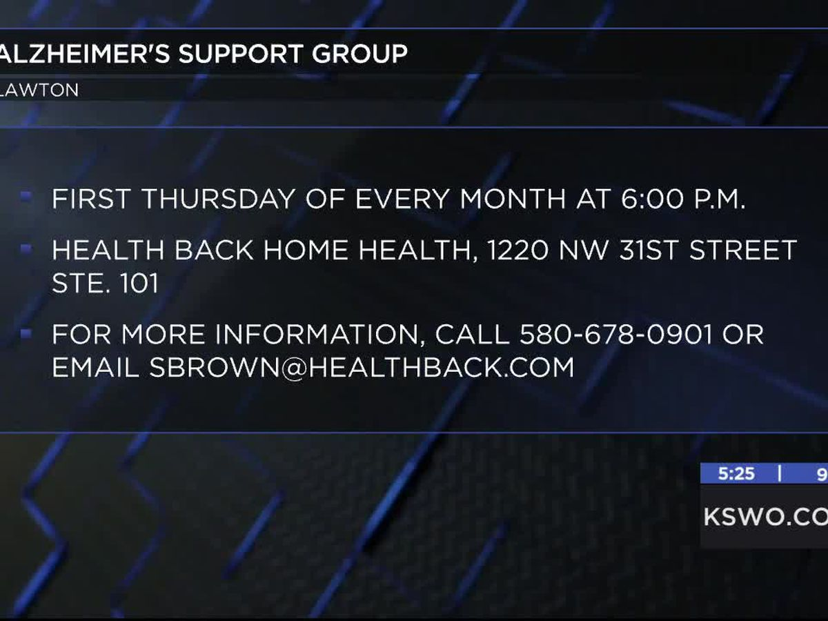 Health Back Home Health hosts monthly Alzheimer's Support Group